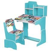 Детская парта Бемби В 2071 столик стульчик растишка для школьника Bambi