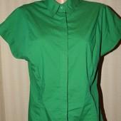 Лёгкая, натуральная, яркая блуза/тенниска большого размера, р.50-52