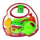 Набор для игры с песком Пикник в прозрачной сумочке ( 6 аксесуаров) от  Ecoiffier (Франция)