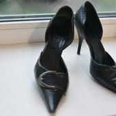 Изящные кожаные женские туфли Booty, 36-37 размер