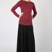 Длинная юбка из трикотажа для беременных.