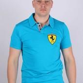 Мужская футболка POLO мод.15Q16