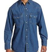 Рубашка  джинсовая  Key Ind.  large  оригинал