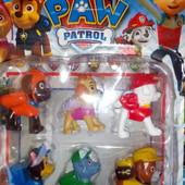 Щенячий патруль  набор из 6 фигурок.