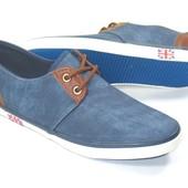 мужские джинсовые туфли