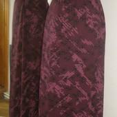 трикотажная юбка-макси состояние новой (стройнит)-14-16 евр