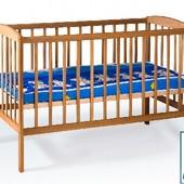 Гойдалка детская кроватка из бука