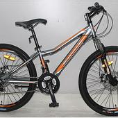 Кроссер Форс 24 велосипед Crosser Forse G-D горный одноподвес
