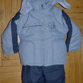 2 - 3 года Зимний костюм раздельный для вашего ребёнка