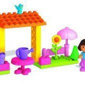 Набор Дора в саду 19 деталей от Mega Bloks (Канада)