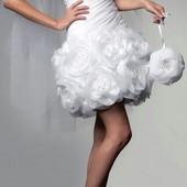 Свадебное-выпускное платье размер S