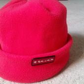 Тёплая шапка девочке 3-6 лет отличное состояние