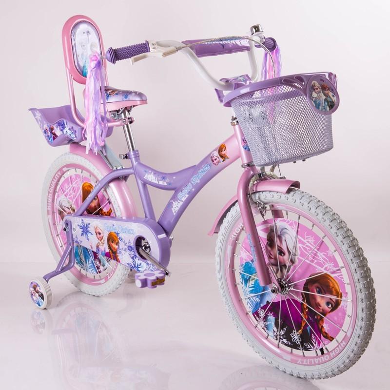 Двухколесный велосипед для девочек frosen холодное сердце на 20 дюймов фото №1