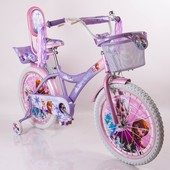 Двухколесный велосипед для девочек Frosen Холодное сердце на 12 14 16 18 20 дюймов