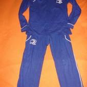 Фирменный трикотажный спортивный костюм для мальчика 4-5 лет