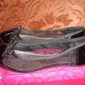 Фирменные  туфли балетки 36 размер