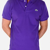 Мужская футболка поло Lacoste.