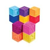 Развивающие силиконовые кубики - Посчитай-ка(10 кубиков, в сумочке)