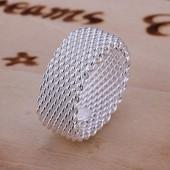 Кольцо Серебряное плетение размер на выбор