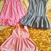 Летние платья для девочки 6 лет ( 116 -122)