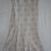 продам льняной сарафан женский размер 14R(regular)(на L).