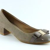 Туфли женские бежевые Т316 р.41
