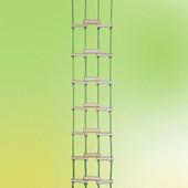 Веревочная лестница деревянная Пиратик для улицы, дачи, спортивных уголков, от производителя