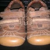 кожаные кроссовки- туфли на мальчика Small But р.6 по стельке 14-15см