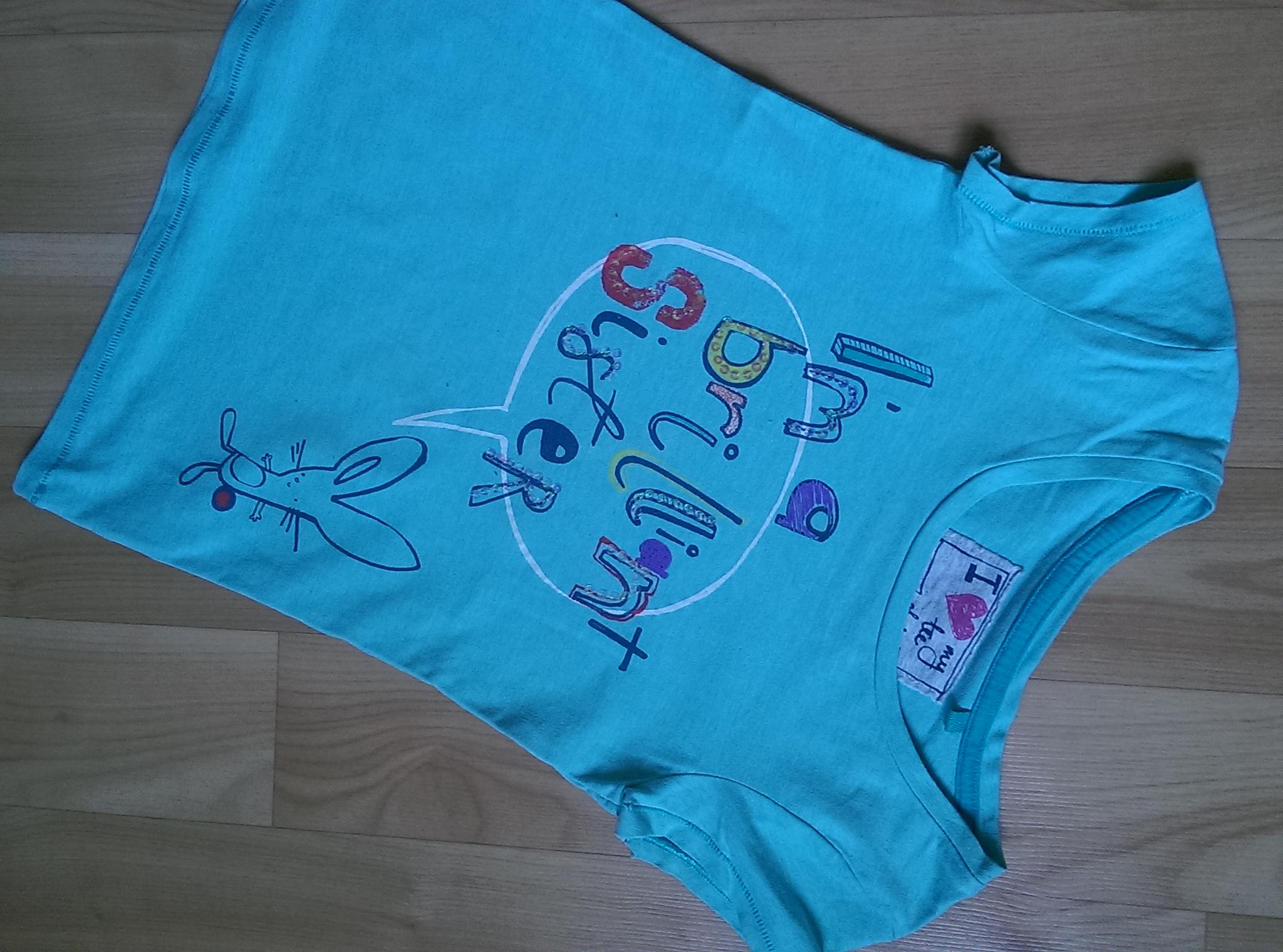 классная футболка Next 8 л128 см