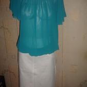Новая бирюзовая фирменная блузка George