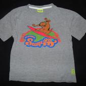 Футболка Scooby-Doo на 7-8 лет,рост 122-128 см.Большой выбор!