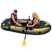 Intex Лодка надувная на 2х чел - без весел и насоса