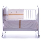 Комплект постельных принадлежностей Feretti Baby Beddings Etoile Avorio (bb-eto-02)