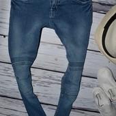 11 - 12 лет Фирменные джинсы скинни узкачи для моднявок джеггинсы