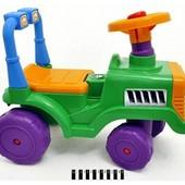Машина-каталка беби-трактор