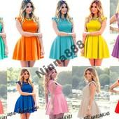 """Платье """"DоLLY"""" + 10 цветов"""