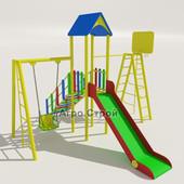 детская площадка и игровой комплекс