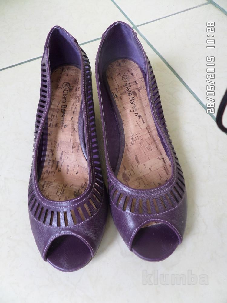 Clara Barson літні туфлі-балетки 36р. 23см фото №1