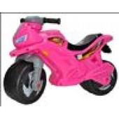 Мотоцикл 2-х колісний лимонний, зел, син, желтый, бел, розов