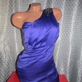 Шикарное коктейльное платье Lipsy London р. 8 наш 38-40