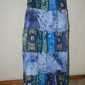 Легкая длинная юбка 44 54