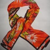 Дизайнерский эксклюзивный шелковый шарф от Adrienne Landau Studio