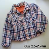 Рубашка-куртка утеплённая (1,5-2 года)
