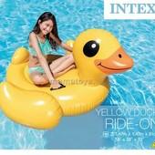 Надувной плотик круг для плавания Intex 57556 Уточка