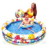 Новые. Детский надувной бассейн  59469 с набором 132-28см, Большой выбор надувных товаров