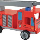 Распродажа -   Пожарная машина от Мир деревянных игрушек