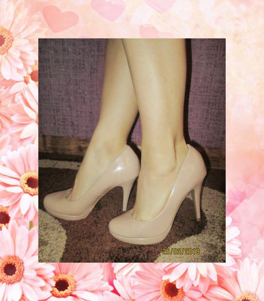 Туфли нюдовые New Look р.39/6 Сток  фото №1