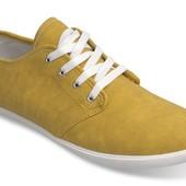 Кеды мужские желтого цвета производства Польша