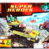 Конструктор 10238 Bela Супергерои,   171 деталей