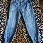 Летние джинсы для девочки на 4 - 5 лет